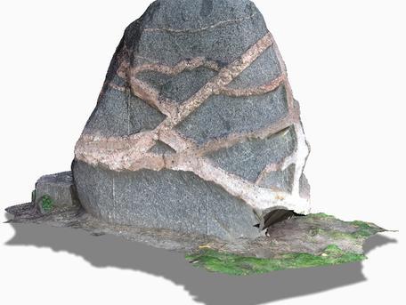 Image of Gwynnes Rock rendering.